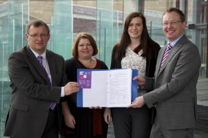 William Powell AC, Elin Maher, Emily Cole, Russell George AC